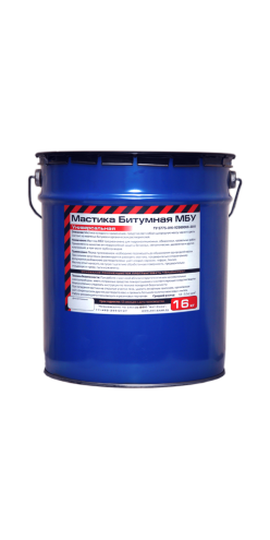 Мастика битумная МБУ (16 кг) поддон 48 шт